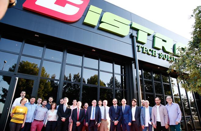 Exitazo en la inauguración de la nueva sede de Gistra.