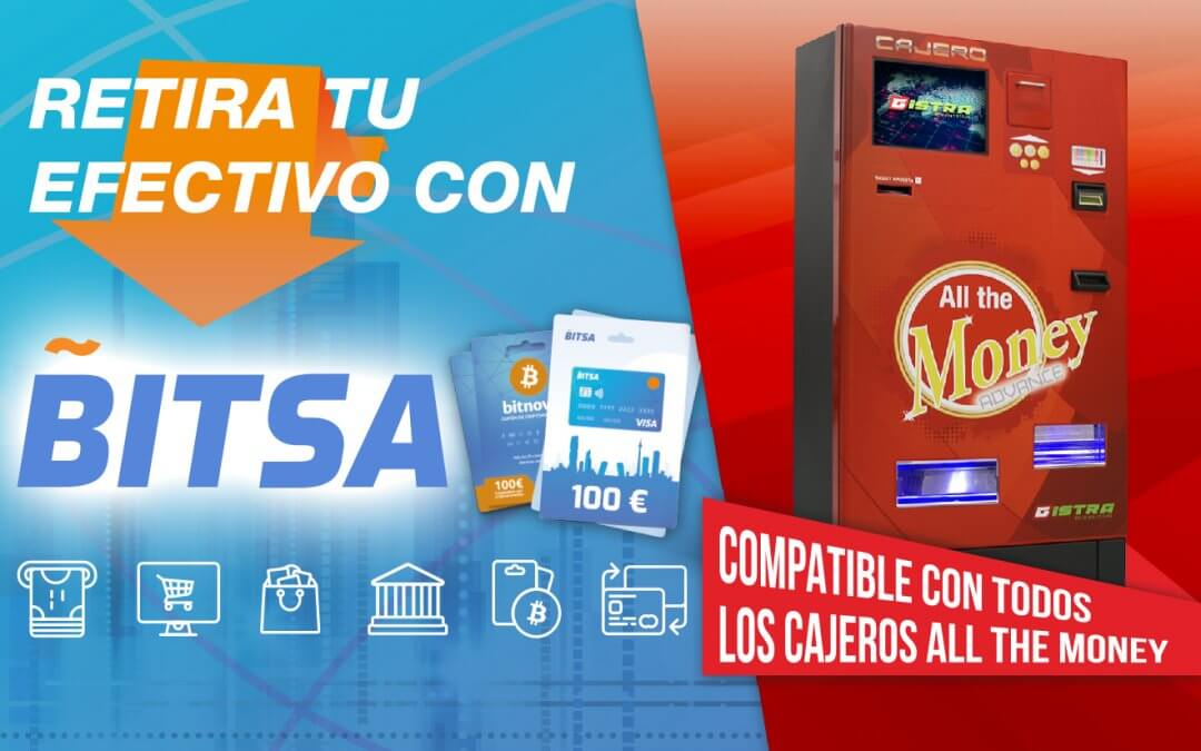 All the Money se integra con las tarjetas prepago VISA BITSA